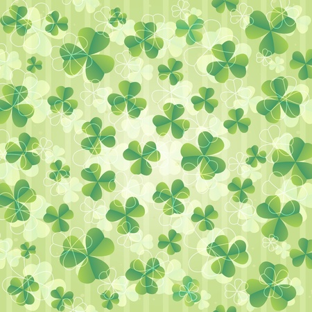 Beautiful St. Patrick's day background illustration Stock Vector - 12495254