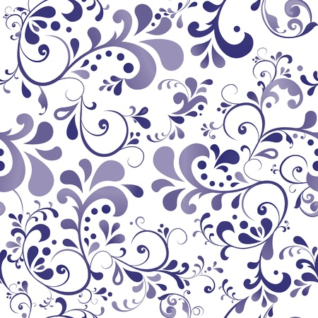 motif floral: Vector ornament wallpaper