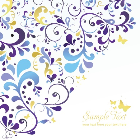 Vector beautiful ornament background