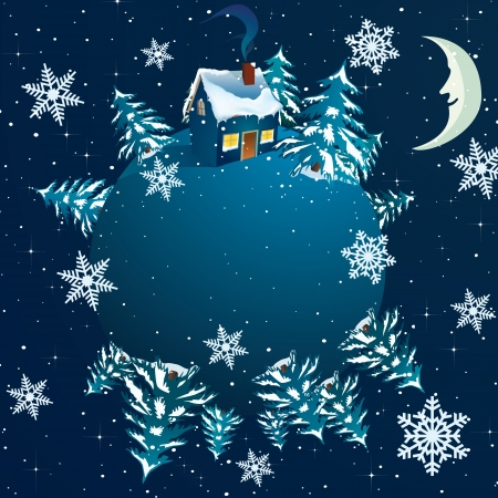 Vector world christmas background  Stock Vector - 16554049