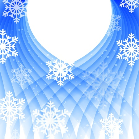 Vector illustration of beautiful glittering Christmas card. Vector