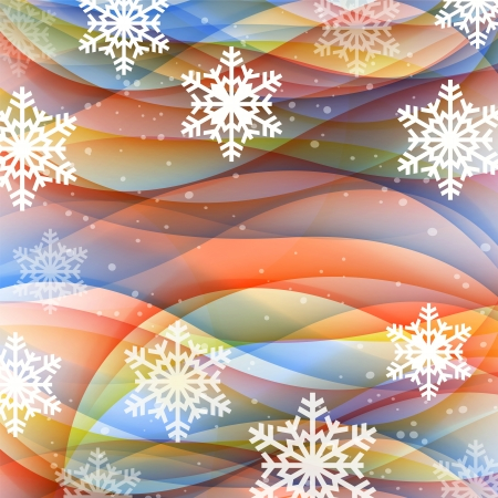 Vector abstract background for new year and for Christmas colorful design. Stock Vector - 16554004