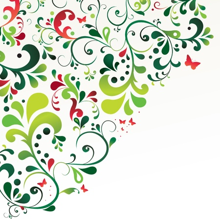 Beautiful ornament background  Vector