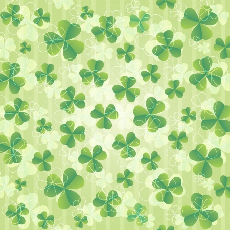 beautiful St  Patrick s day background illustration  Stock Vector - 17753434