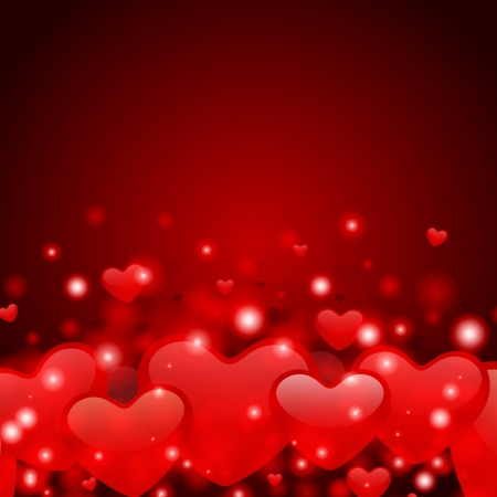 amazing Valentine s day card  Vector