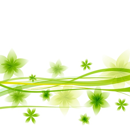abstract green background Stock Vector - 17744713