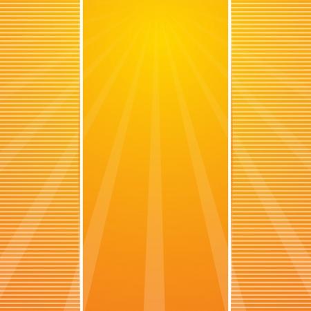 festive summer gold card. Stock Vector - 20172485