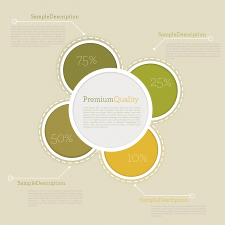 usage: high quality business infographic elements for web and print usage. Illustration