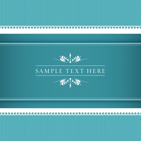 trouwkaart of uitnodiging met bloemen ornament achtergrond. Perfect als uitnodiging of aankondiging. Stock Illustratie