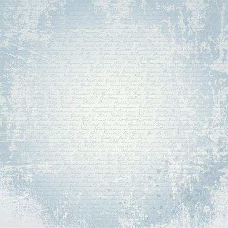 oud papier met kalligrafie textuur backround. Stock Illustratie