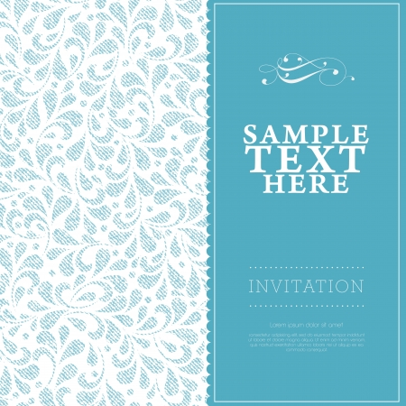 typography: wedding card or invitation with floral ornament background. Perfect as invitation or announcement.