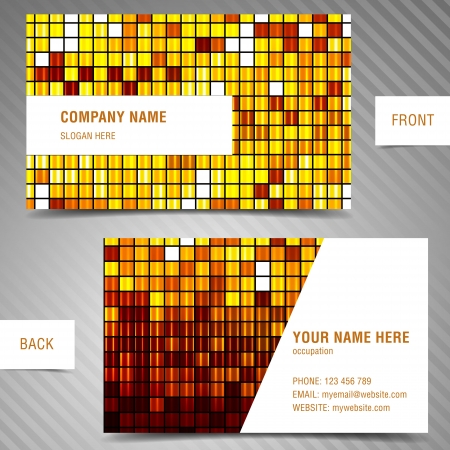 modern business-card set. Stock Vector - 20172685
