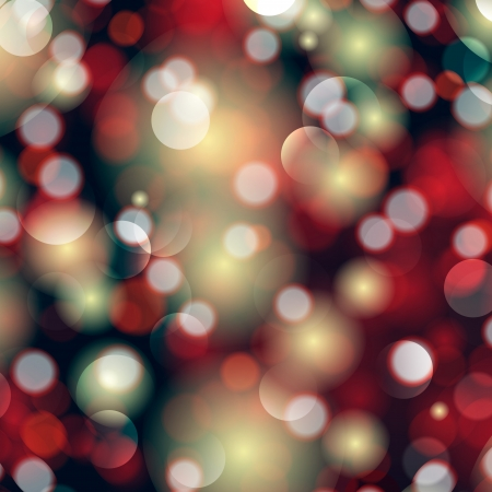 Elegant abstract background with bokeh defocused lights and stars   Vector