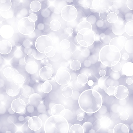 solemn: Glittery lights purple silver abstract Christmas background