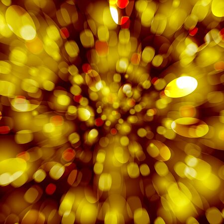 Festive golden explosion with fast motion  Vector