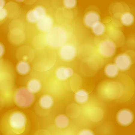 fondo elegante: Luces relucientes abstracto fondo festiva de oro