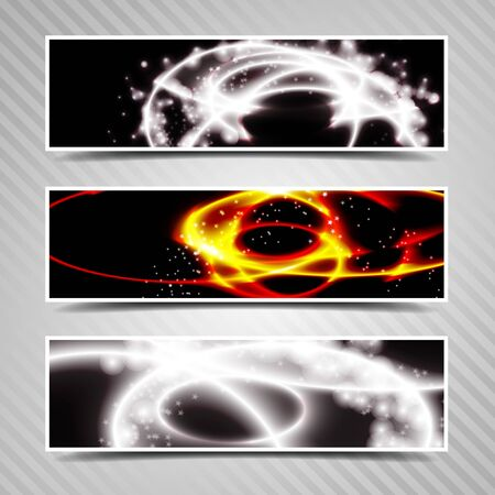 Abstract horizontal banner, headers Stock Vector - 20753258