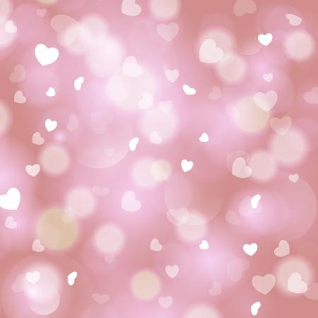 glitter heart: Christmas love abstract background  Illustration