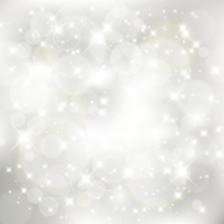 glittery: Glittery silver abstract Christmas background