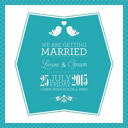 Bruiloft uitnodiging kaart Stockfoto - 21760351