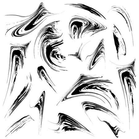 Grunge ontwerp elementen set Stockfoto - 22244502