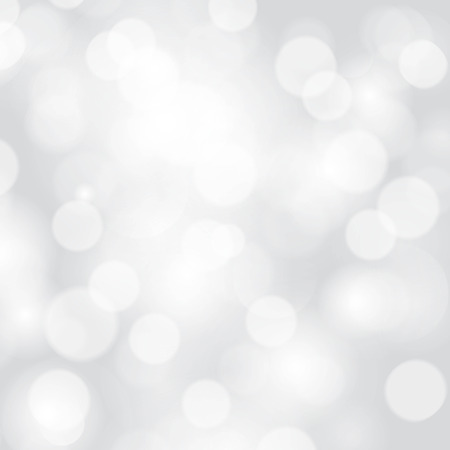 thank you: Glittery lights silver abstract Christmas background