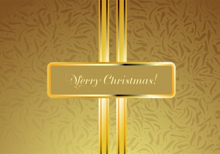 Luxury Christmas card  Perfect as invitation or announcement  Vector
