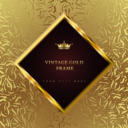 Luxe vintage achtergrond Perfect als uitnodiging of aankondiging Stockfoto - 22489306