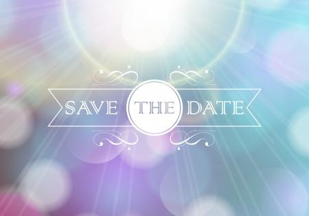 Einladungskarte Perfekt als Einladung oder Ankündigung Standard-Bild - 22489222