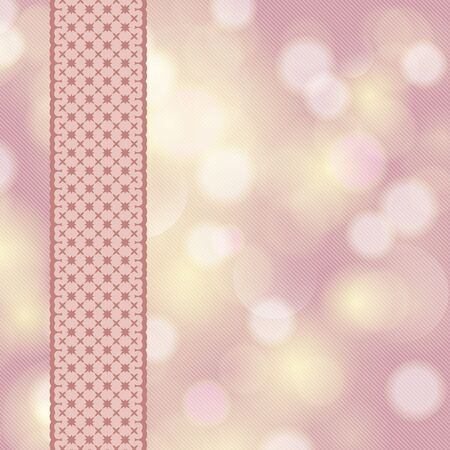 robbon: Wedding card or invitation with floral ornament ribbon. Holiday cover design template. Perfect as invitation or announcement.