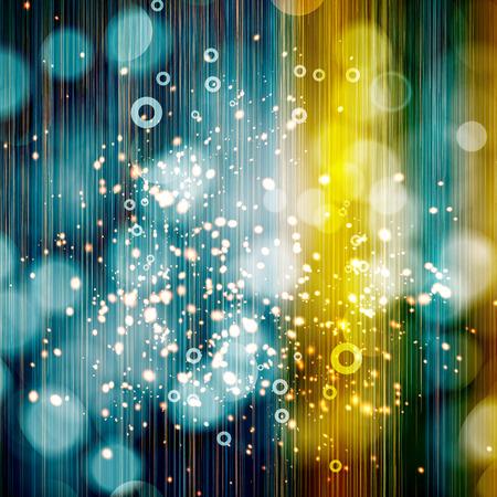 xmas decoration: Festive background of glittering lights.