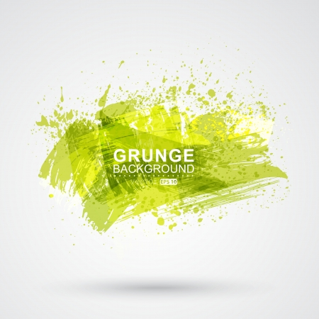 grunge brush: Figured brush strokes brush and ink.