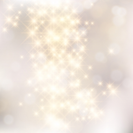 Glittery lights silver abstract Christmas background. Stock Vector - 23768397