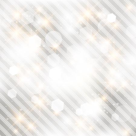 Glittery licht zilver abstracte achtergrond van Kerstmis.