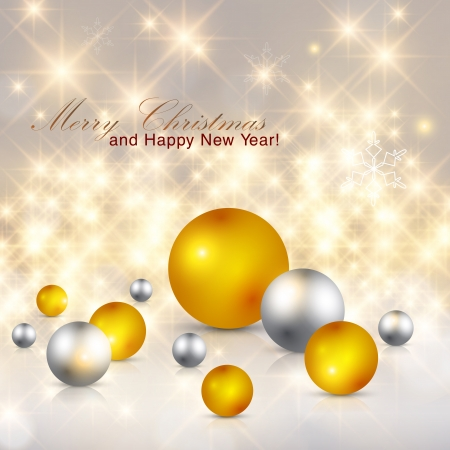 Elegant glittery Christmas background.