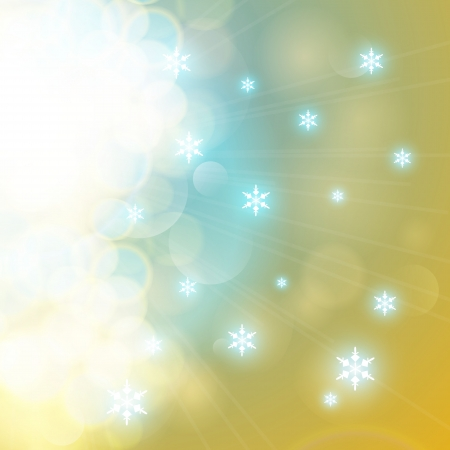 Glittery lights abstract background. Vector