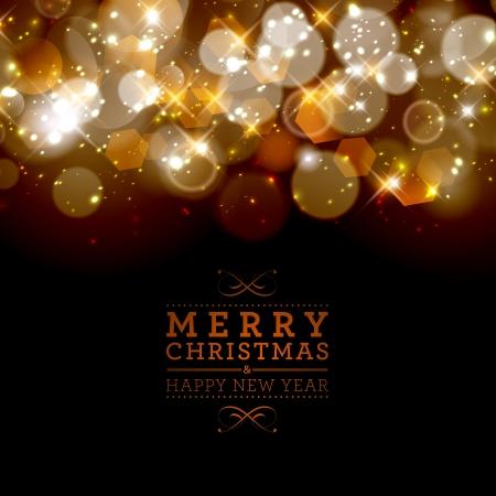 Abstracte schitterden kerst achtergrond. Stockfoto - 23980289