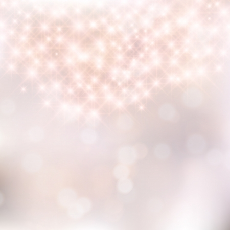 Glittery silver abstract Christmas background. Vector