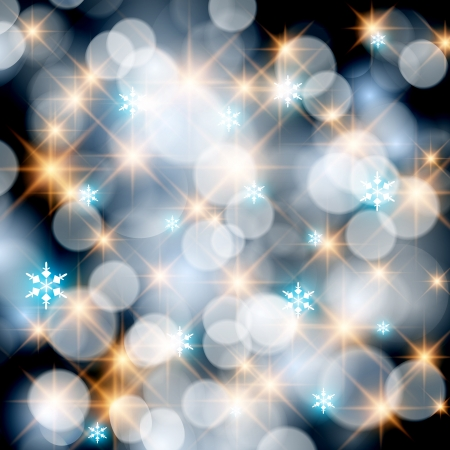 Elegant glittery abstract Christmas background.