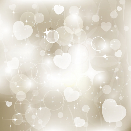 Elegant glowing abstract background of holiday lights