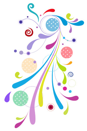 Abstract decoration element design
