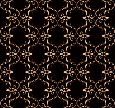 Luxury seamless wallpaper pattern
