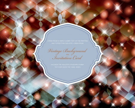 Elegant Christmas invitation card. Stock Vector - 24149003