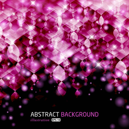 Abstract glowing illustration background.  Vector