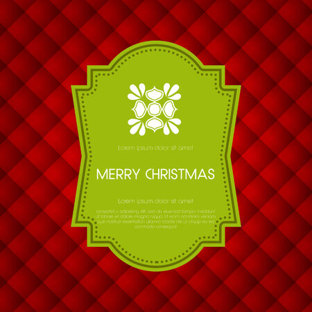 Elegant holiday invitation card design. Stock Vector - 24149105