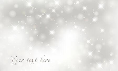 Licht zilver abstracte achtergrond van Kerstmis. Stockfoto - 24149110