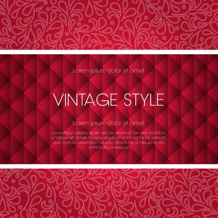 Ornate frame for invitation or announcement. Stock Vector - 24149479