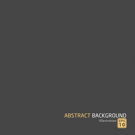 Abstract dotted metal background design.  Vector