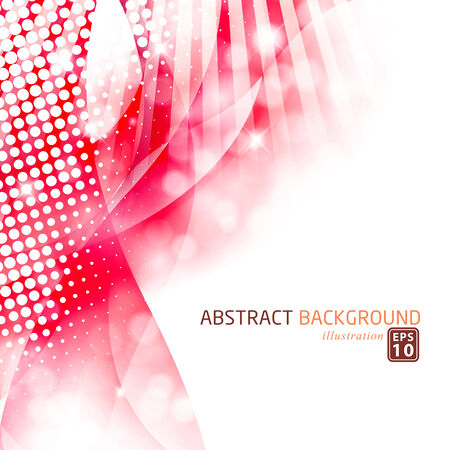 halfone: Modern abstract background template.