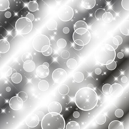 Flickering lights Christmas background.